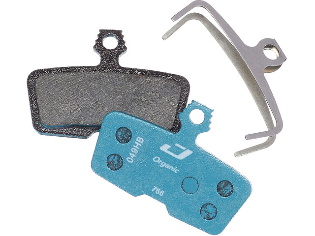 Jagwire Sport Organic Pastiglie Per Freni A Disco Per SRAM Code RSC/R/Guide RE, blu